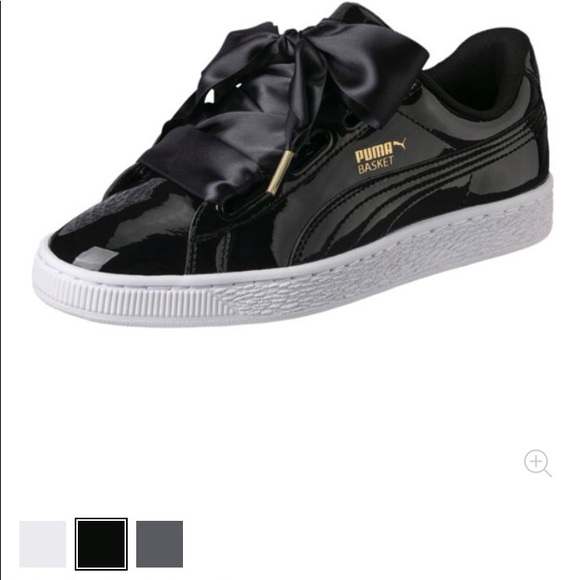 Puma Shoes | Puma Basket Heart Patent